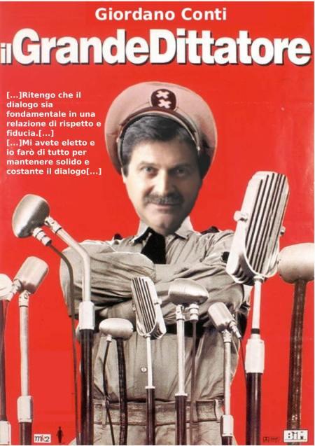 giordano conti dittatore del web